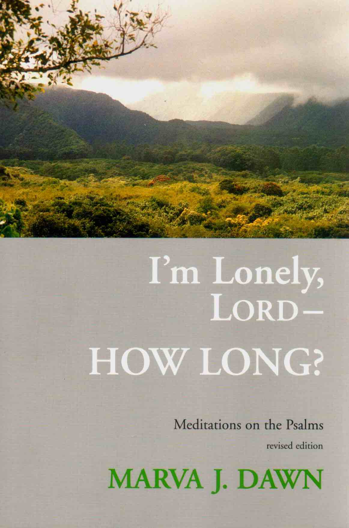 I'm Lonely, Lord - How Long?